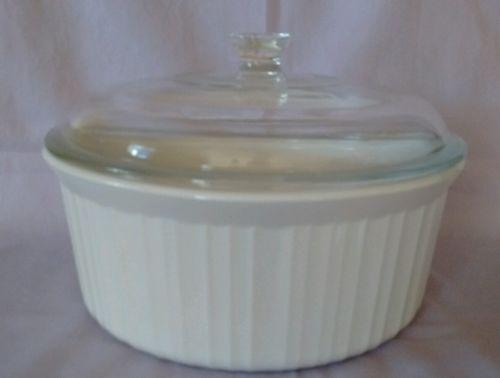 Corning Ware White  2.5 Quart Round Casserole Dish