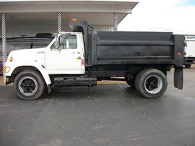 1996 Ford F800 Dump Truck Dump Trucks