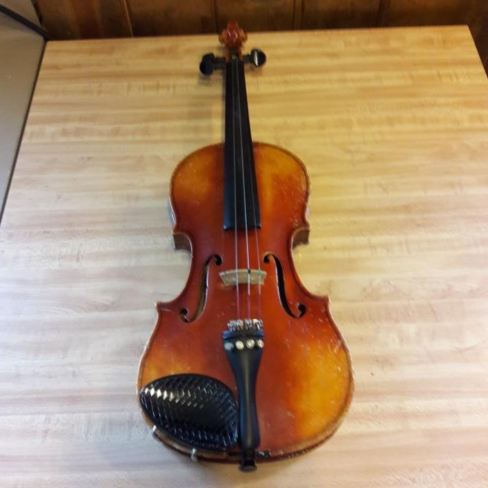 Vintage Violin Copy of Antonius Stradivarius Made in Germany With Bow & Case