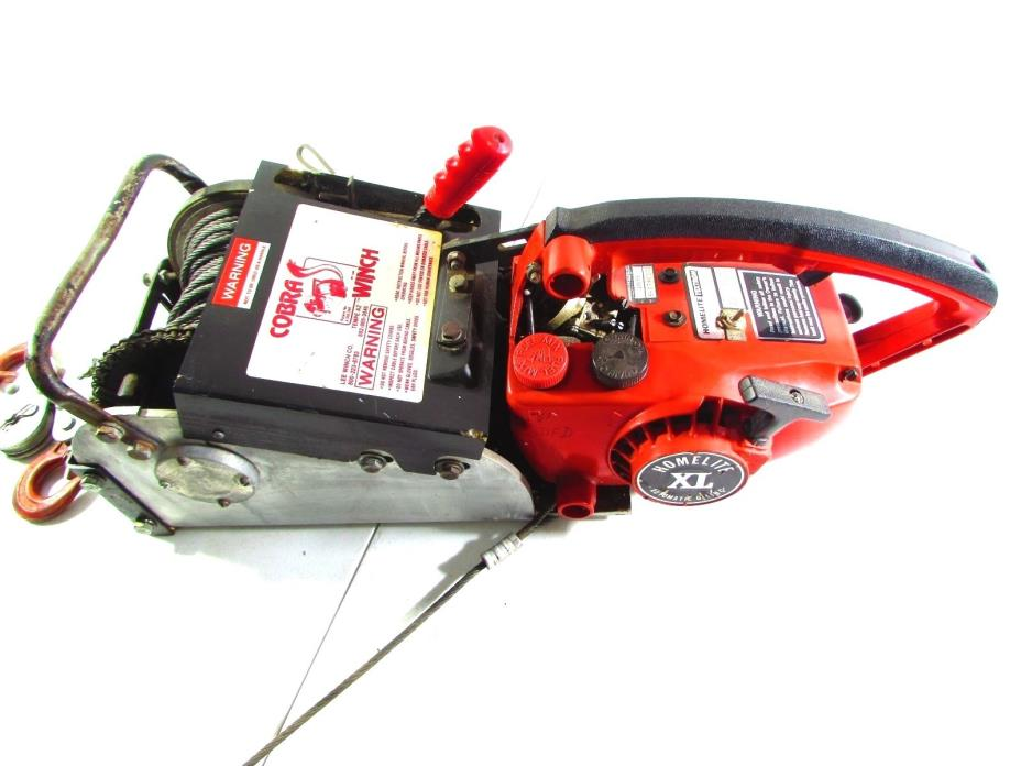 COBRA ELECTRONICS CHAINSAW WINCH