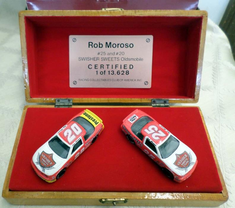 ROB MOROSO 1989 Swisher Sweets 2 Car Oldsmobile Nascar Diecast Collectible 1/64