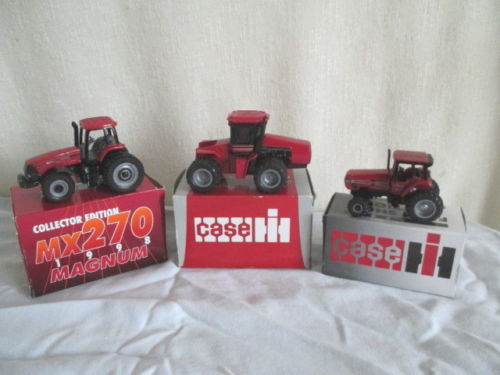 1993 & 94 FARM SHOW EDITION CASE TRACTORS *MX270 *1/64 Ertl Toy Tractors