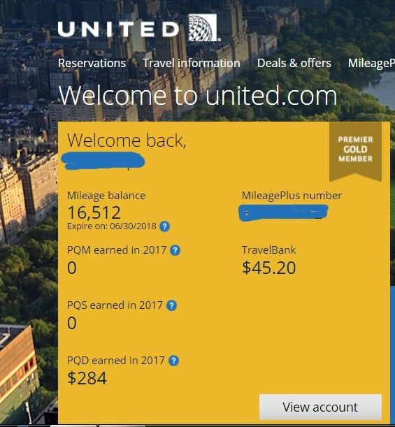 United Airlines Premier Gold Upgrade Star Alliance