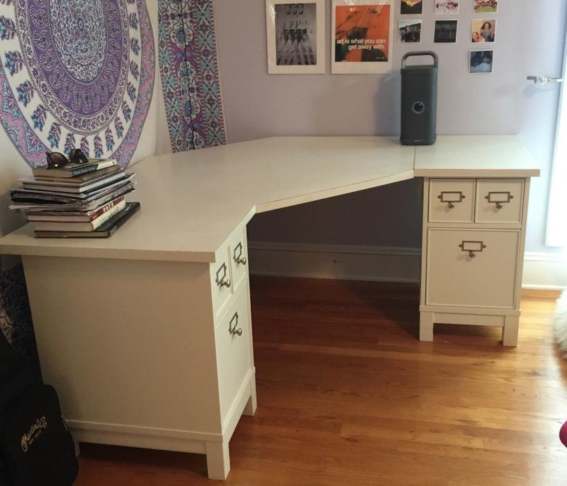 Pottery Barn White Desk For Sale Classifieds