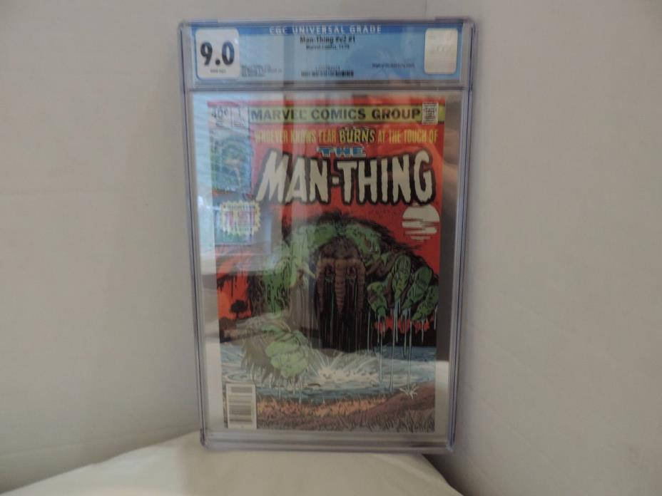 Man-Thing 1979 2nd Series #1 Comics CGC 9.0