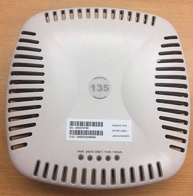 Aruba Networks IAP-135 Instant Wireless Access Point WAP 802.11 A/B/G/N