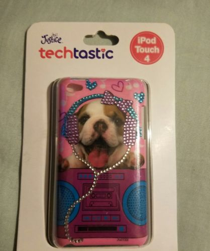 Justice ipod touch 4 dog-bling case