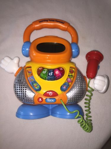 Vtech Learning Tunes Karaoke Machine Musical Toy Toddler Kids Mic Microphone