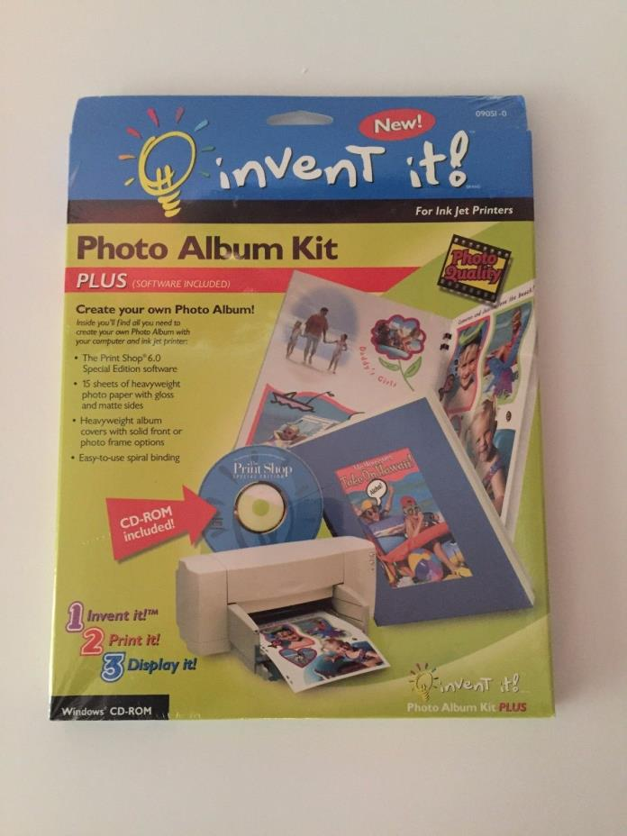 Invent It! Photo Album Kit with Software