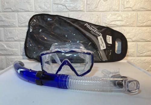 Phantom Aquatics Mexico Mask Dry Snorkel Set