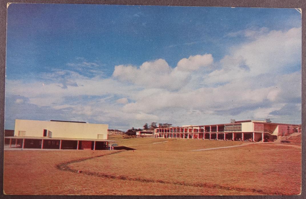 Okinawa Japan Sukiran Camp Recreation Area  Military Standard View Postcard b788