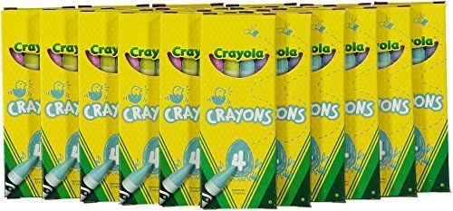 Kids Craft Crayon 24 Boxes Crayola 4ct Party Favor Pack New Spring Color