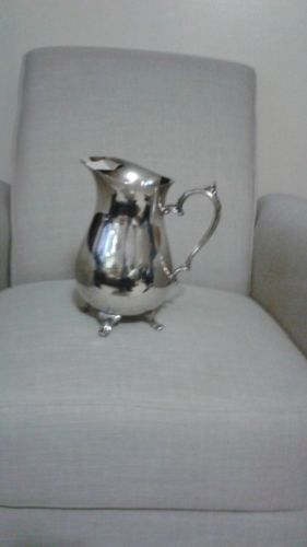 Real Silver Pitcher