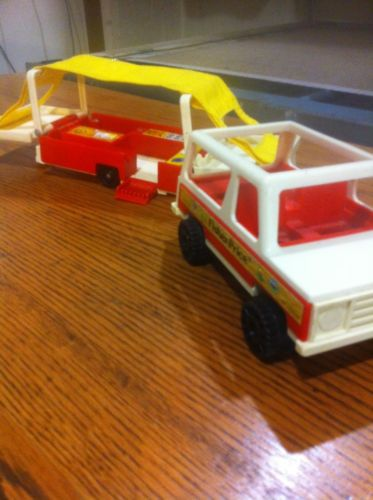 Fisher Price Truck And Camper 1978