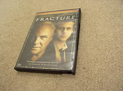 Fracture (DVD, 2007, Widescreen) Anthony Hopkins, Ryan Gosling