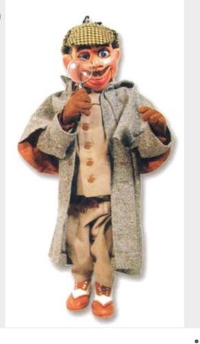 First Howdy Doody Puppet Ever With Classic Iconic Face Produced By Thelma Dawson