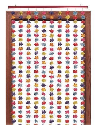 Hawaiian Luau Floral Party Door Hanging Curtain Party Decoration