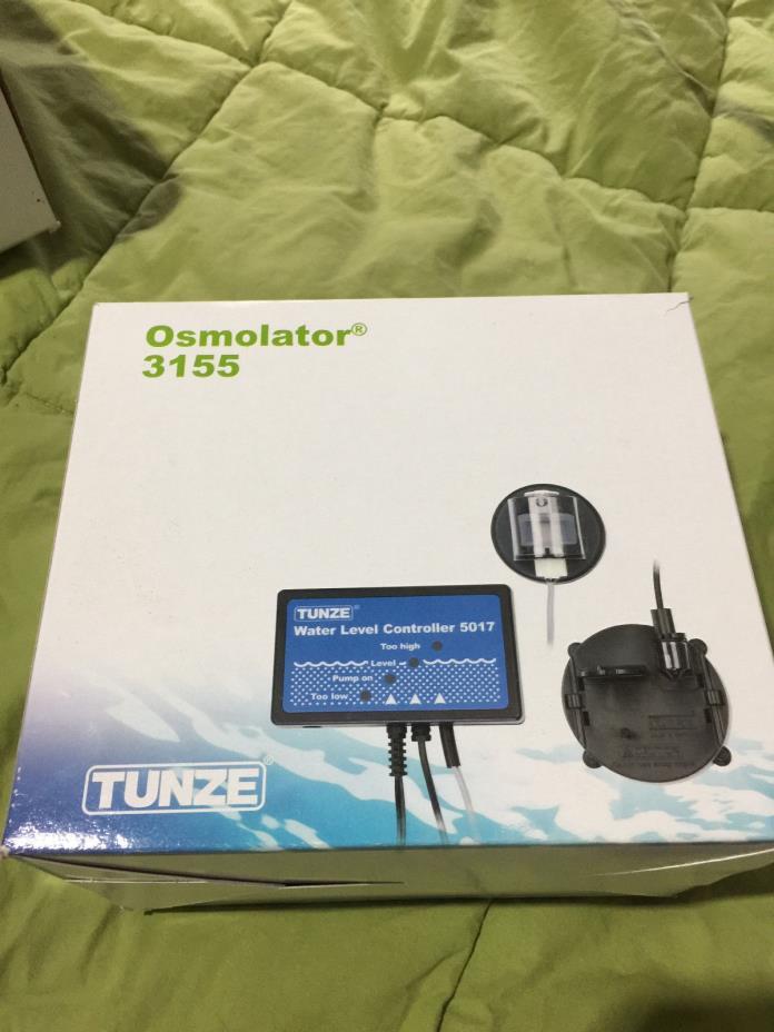 Tunze Osmolator 3155 - Auto Top Off System for Aquarium Evaporation - Full Setup