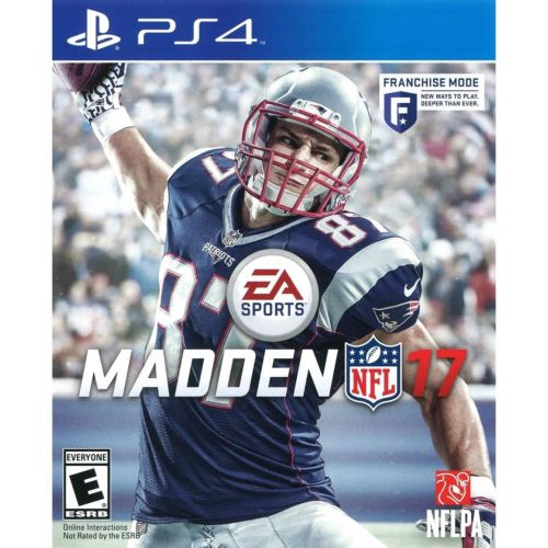 Madden 17 PS4 Paper Clip With Free 1 Million Coins