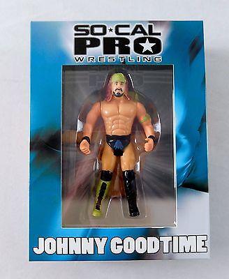 Johnny Goodtime SoCal Pro Wrestling MIB Action Figure NEW wwe tna roh MOC Hasbro
