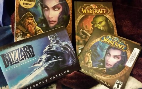 lot of world warcraft pc games