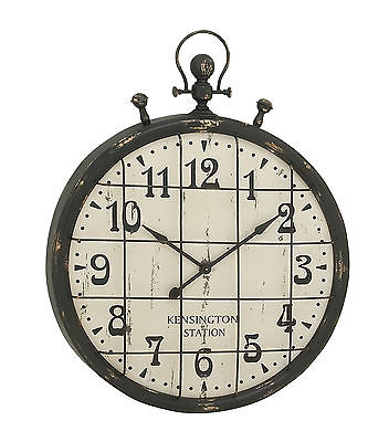 Enticing Metal Wall Clock