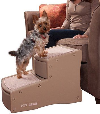 Pet Stairs Dog Cat Portable Couch Bed Ladder Indoor Small Animal Step Ramp New
