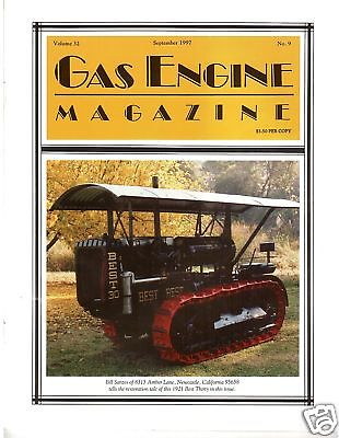 1921 Best Crawler Tractor, Forest's Gas Motor Engine, Homemade Buggies