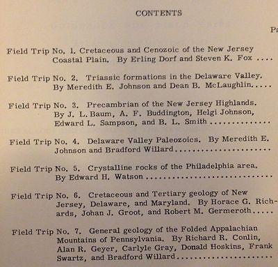Geology: New Jersey Highlands, Delaware Valley; Field Trip Guidebook, Road Logs