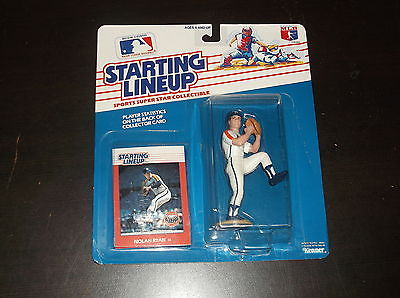 1988 STARTING LINEUP NOLAN RYAN BASEBALL ACTION FIGURE SEALED ASTROS