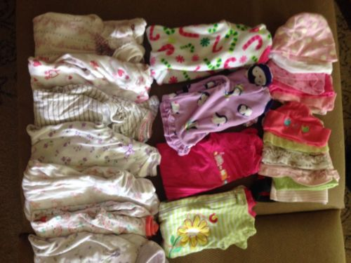 Infant Sleeper Lot 0-3 Months. Lot Of 12