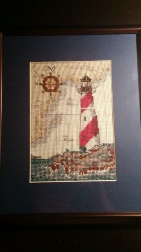 Finished counted cross stitch kit