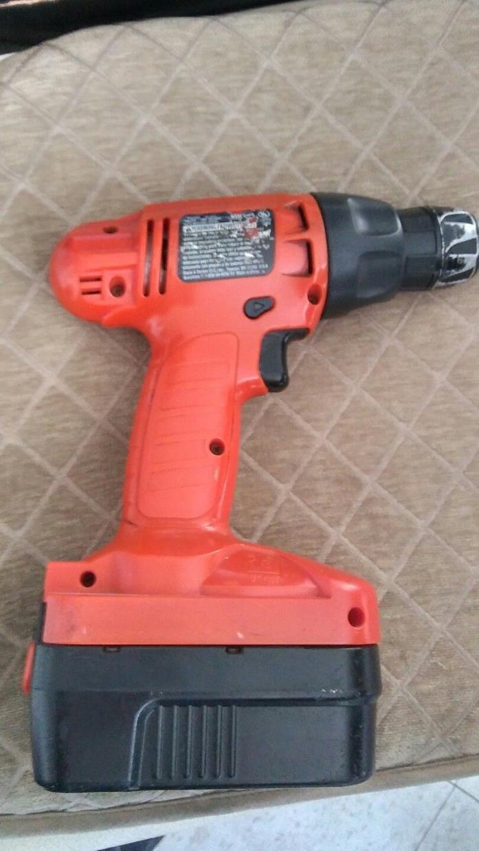 18 v black&decker drill