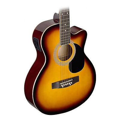 Stagg SA20ACE Acoustic / Electric Guitar Sunburst
