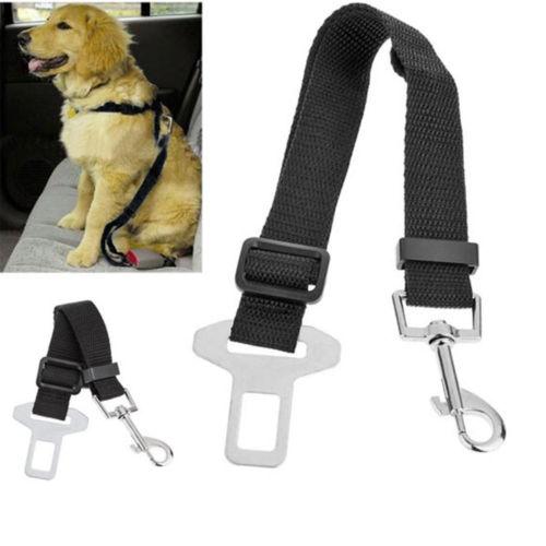 Adjustable Car Safety Seat Belt Harness Restraint Lead Travel Clip For Pet Dog