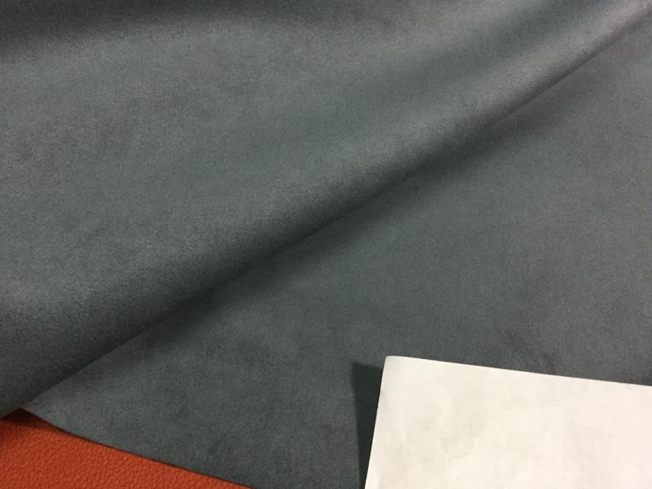 2680 Slate Blue Toray Ambiance/HP Ultrasuede Micro. fabric,  9 5/8 yes.