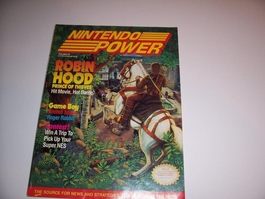 Nintendo Power volume 26
