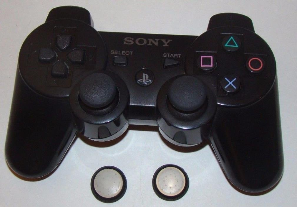 PS3 Playstation 3 Genuine Controller Sixaxis PS3 with Thumb-stick grip pads