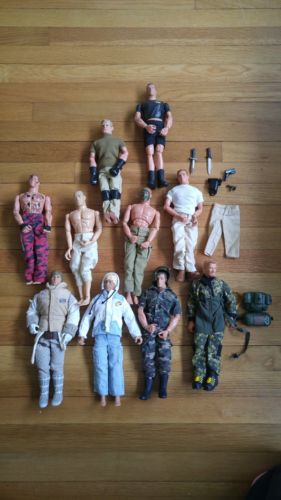 Gi Joe Action Figure Lot