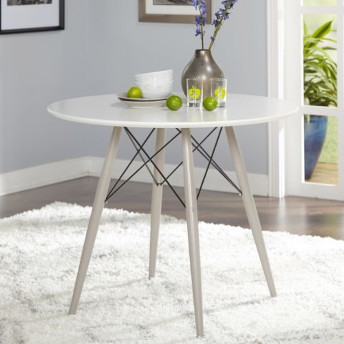 Simple Living Elba Mid-Century Dining Table