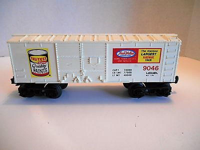 Lionel #9046 True Value Billboard Boxcar 1976, 9040 series lot 4