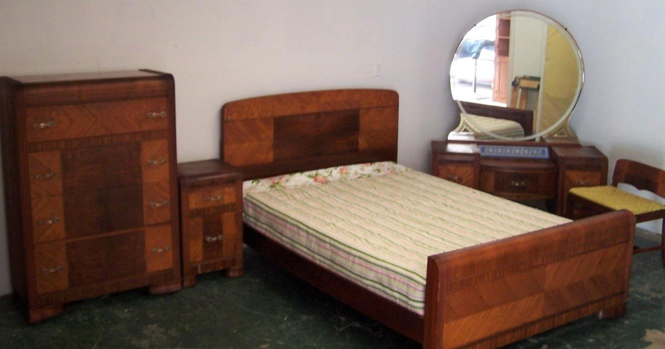 waterfall bedroom set for sale classifieds. Black Bedroom Furniture Sets. Home Design Ideas