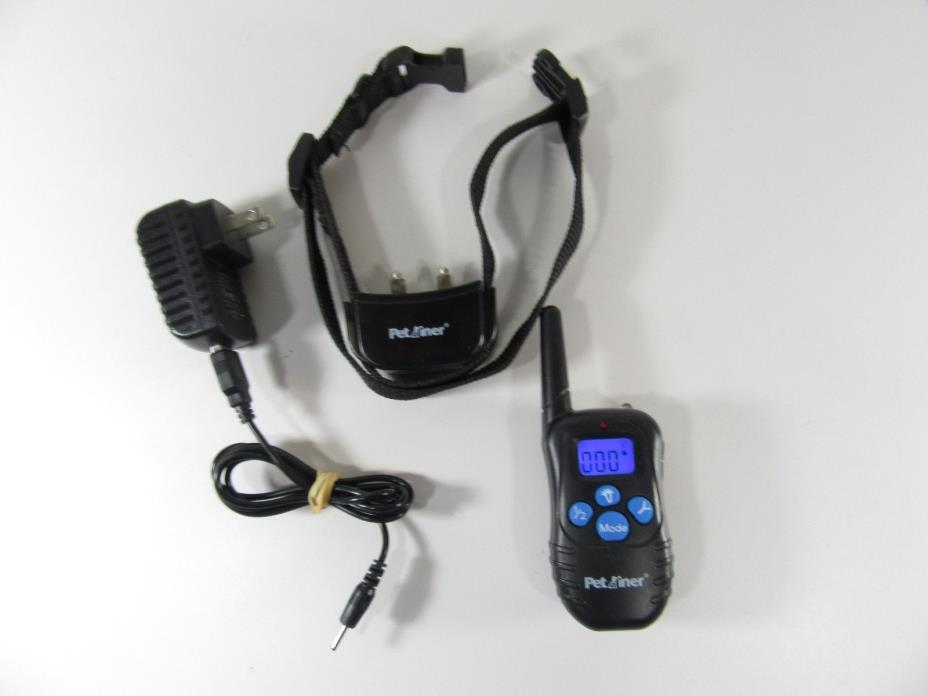 Petainer Rechargeable Training Collar with Remote  pet998db