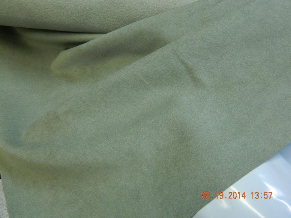 4397 Eucalyptus  Toray Ambiance/HP Ultrasuede Micro. fabric, 6 yds.