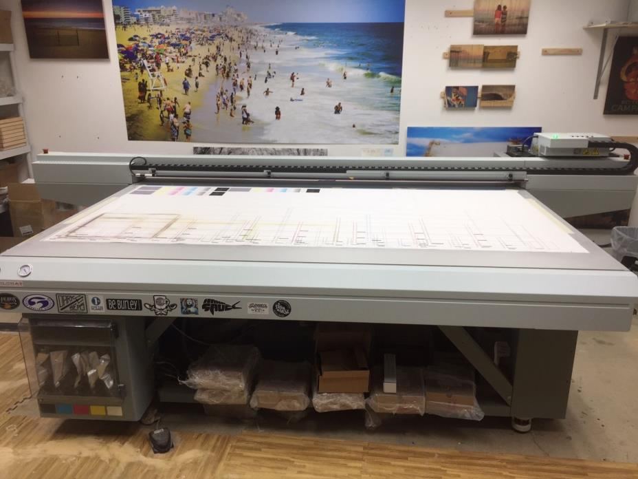 Oce Arizona 4' x 8' UV Flatbed Printer