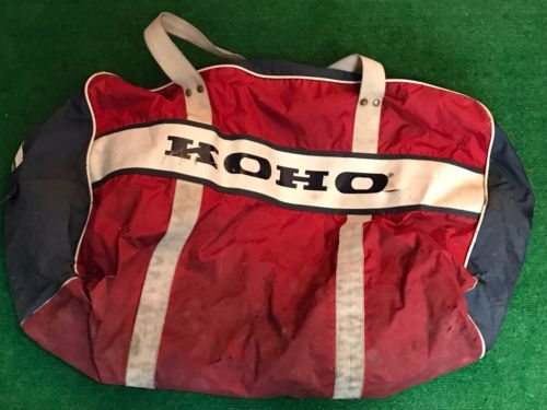 Vintage KOHO Hockey Equipment Bag Rare Fast Free Shipping Large
