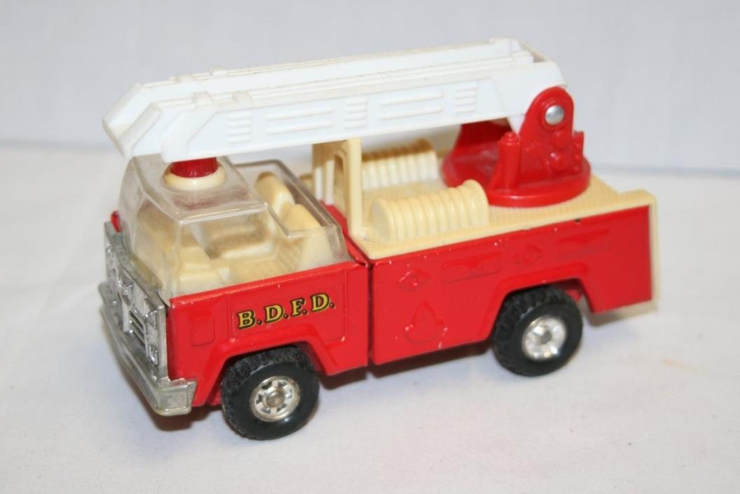 Vintage Buddy L Fire Truck with Ladder