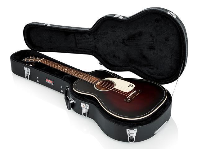 Gator GWEACOU Hardshell Wood Case for 3/4-Size Acoustic Guitars