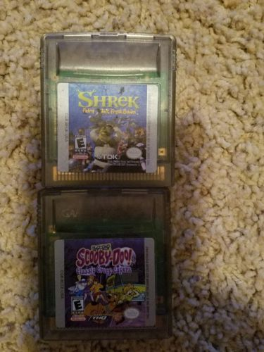 nintendo gameboy color game lot... 2 games.  free shipping