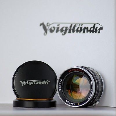 RARE Voigtlander S Nokton 50mm F1.5 ASPHERICAL lens for Nikon rangefinder camera